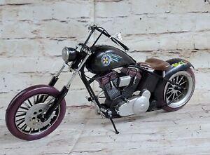 European Finery 1:8 HARLEY DAVIDSON ROAD KING CLASSIC MOTORCYCLE BIKE DIECAST