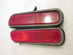 98-02 HONDA ACCORD REAR BACK BUMPER MARKER REFLECTOR LIGHT LEFT RIGHT SIDE OEM