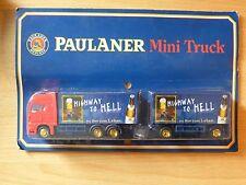 Modellino autocarro per birra Rimorchio trasporto MAN Paulaner Monaco MK 3