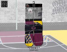 ODD SOX [BORDEAUX court] Socks Chaussettes Basket Ballin NBA Tatouage Ink Skate OD