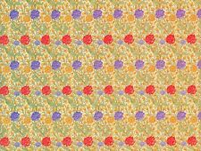 WILD TULIP WALLPAPER SHEET 13 x 19.5 INS FOR DOLLS HOUSE IN 12th SCALE W. MORRIS