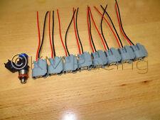 (8x) Bosch 42lb 0280158051 Camaro SS Corvette LS3 L99 Fuel Injector Connectors