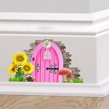 ROSA Fata Pixie Porta Muro Arte Adesivo Decalcomania Decorazione Carino GRAPHIC elude Board