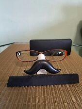 7681e6608f ROBERT MARC Eyeglasses Handmade France 200-33 Glossy Brown Glasses W  Case
