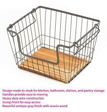 Better Homes & Gardens Stacking Basket Large Kitchen - Storage and Organization