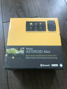 Parrot Asteroid Mini - Android Bluetooth telephone hands free Music Apps carkit