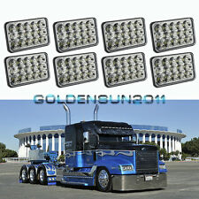 8pcs LED Headlights Sealed Beam Headlamps For FREIGHTLINER FLD 120 112 FLD  new