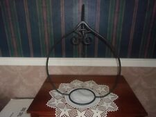 Longaberger Wrought Iron Plant Hanger & Wall Arch