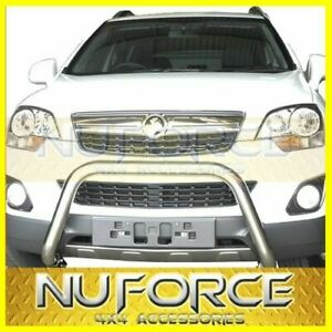 Nudge Bar / Grille Guard SUITS Holden Captiva 5/7 CG Series (2006-2010)