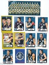 2001 Team & Player Sticker Collection CARLTON (23 Stickers)
