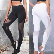 Fashion Leggings Pants Trouser Breathable New Fitness Bottoming Yoga Women O3