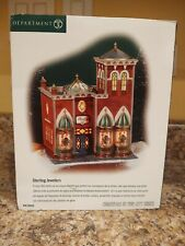 New In Box ! Department 56 Christmas In The City- Sterling Jewelers #56.58926