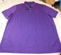 Polo Ralph Lauren Short Sleeve Polo Shirt XXL Classic Fit 606042 Purple