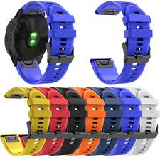 22mm Reloj Banda Correa de Reloj Repuesto de Silicona Para Garmin Fenix 6/6 Pro