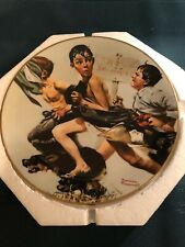 1974 Gorham/Norman Rockwell The Streaker Collector Plate