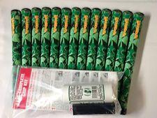 13 TourMARK Loudmouth LUCKY Standard Size golf grips & DIY Grip Kit