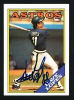 Dave Lopes #226 signed autograph auto 1988 Topps Baseball Trading Card