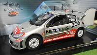 PEUGEOT 206 WRC # 2 RALLYE FINLANDE 2002 1/18 SOLIDO 202991-08 voiture miniature