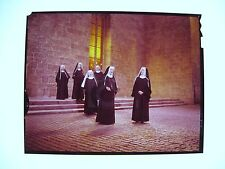 The Sound of Music original vintage photo transparency Nuns in Abbey soundstage