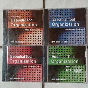 General Motors Essential Toll Organization DVD Lot of 4 Version 4.0 5.0 6.0 7.0