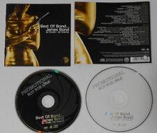 James Bond  Best Of  U.S. promo label 2 cd Tom Jones, Nancy Sinatra McCartney