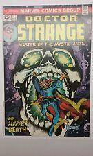 Doctor Strange 4 (OW/W Pages 9.4+) Brunner Cover Doctor Strange vs. Death
