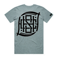 Hourless Tall Tee (T-Shirt) Mens S M L XL XXL GREY Tattoo Afends Vans RVCA
