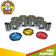 Pistons And Rings Fits 63 89 Ford 47l 50l V8 Ohv 16v Cu 289 302