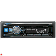 ALPINE CDE-153BT CD USB AUX MP3 WMA iPHONE iPOD iPAD EQUALIZER BLUETOOTH RADIO