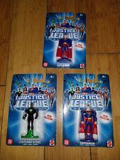 """Mattel Justice League Metal Collection DC Figure GREEN LANTERN 3"""" & Supermans 1C"""