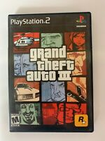 Grand Theft Auto 3 X Play Station 2 Used Game A07