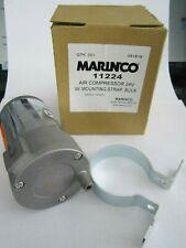 NEW MARINCO 11224 AIR COMPRESSOR 24V W/ MOUNTING STRAP
