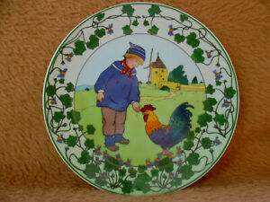 Heinrich / Villeroy & Boch Wandteller - Unsere Kinder - Nr. 4 / TOP