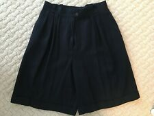 Jones New York Woman's Linen Navy Shorts - size 10