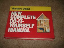 New Complete Do-It-Yourself Manual by Reader's Digest Editors (1991, Hardcover)