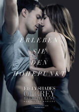 FIFTY SHADES OF GREY 1.2,3: TRILOGIE - 9 vers. Orig.Kino-Plakate A1 - Gerollt