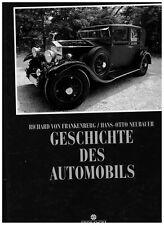 Fettes Buch: Geschichte des Automobils