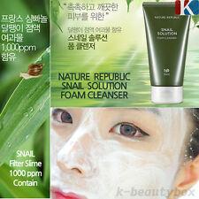 FOAM CLEANSER Snail Solution Foam Cleanser 150ml NATUREREPUBLIC Korean Cosmetics