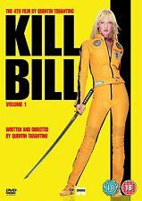 Kill Bill Volume 1- 2013 Uma Thurman, David Carradine, Daryl NEW UK REGION 2 DVD