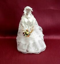 "DOLLS HOUSE BRIDAL SHOP - ""VIOLET"" - EARLY VICTORIAN BRIDAL GOWN"