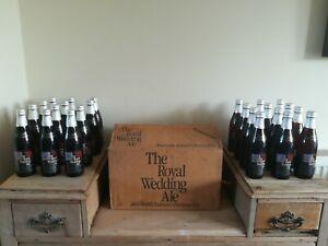 Wedding Ale Diana Charles Bottle 1981 Royal Ltd 354 ml Beer John Smiths Box 24