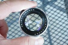 A+ Voigtlander NOKTON 50mm f/1.5 lens Chrome Prominent mount Adapt to LEICA Rare