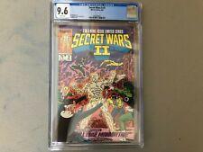 Secret Wars II #2--CGC 9.6--The Beyonder on Earth!