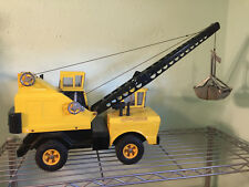 Mighty Tonka Crane # 3940 everything works good cab windows