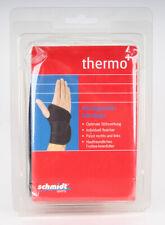 Schmidt Sports Thermo+ Handgelenkbandage, uni, schwarz Bandage