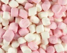 100g halal mini pink and white marshmallows