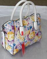 Ladies Daisy Floral Handbag Messenger Bag Cross Body School Work Shoulder Bag