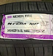 4 New 245 45 18 Nexen N'Fera AU7 Tires