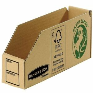 Fellowes Earth Series 76mm Parts Bin (Pack of 50) 7352 [BB88043]
