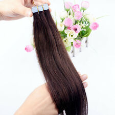 8A 20pcs 16-26inch PU Skin Weft Tape in Ombre T 100% Remy Human Hair Extensions